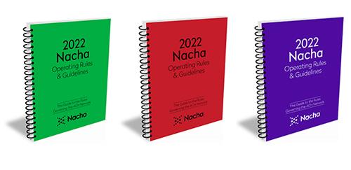 2022 Nacha Rules Color Choices